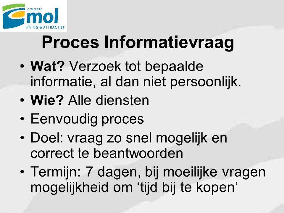 Proces Informatievraag
