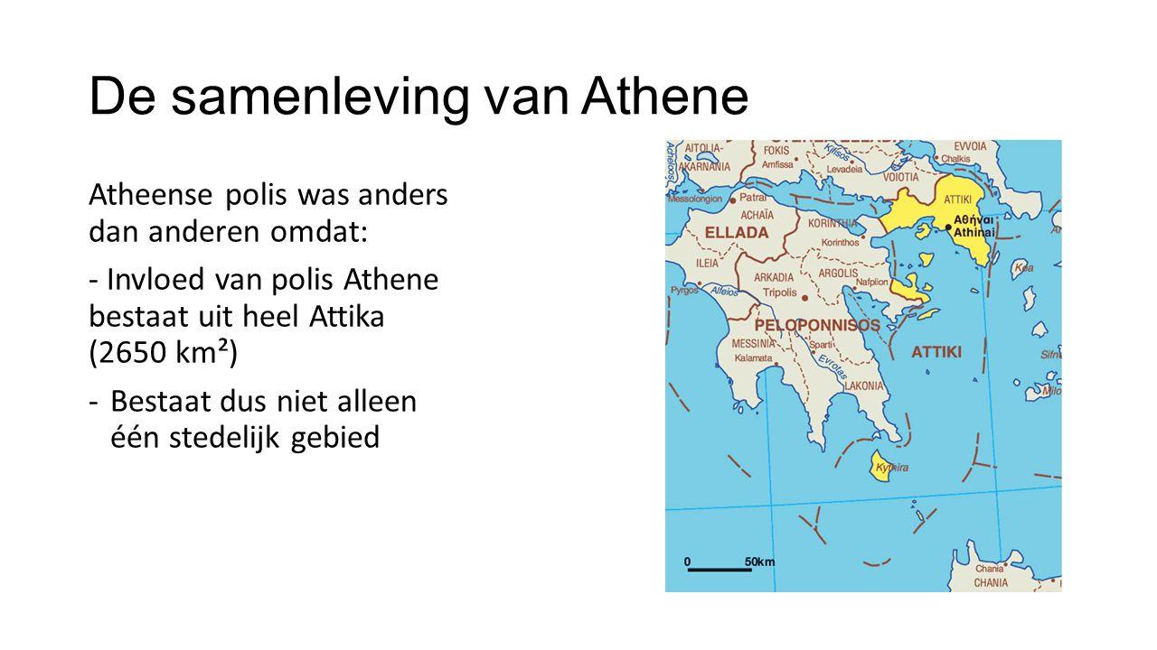 De samenleving van Athene