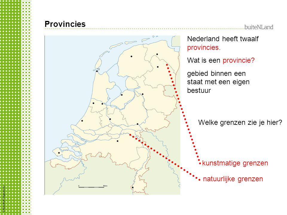 Provincies Nederland heeft twaalf provincies. Wat is een provincie