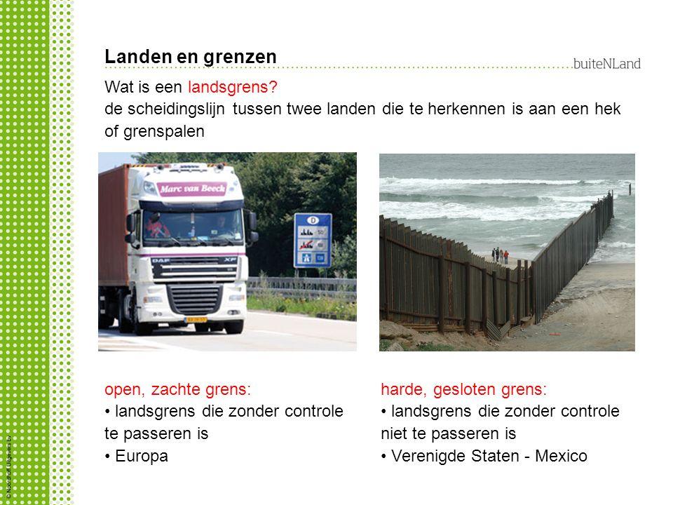 Landen en grenzen Wat is een landsgrens