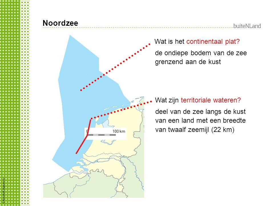 Noordzee Wat is het continentaal plat