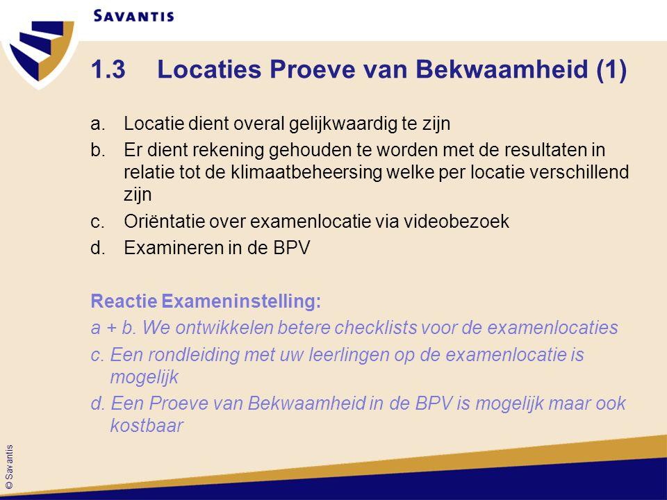 1.3 Locaties Proeve van Bekwaamheid (1)