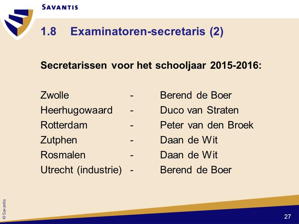 1.8 Examinatoren-secretaris (2)