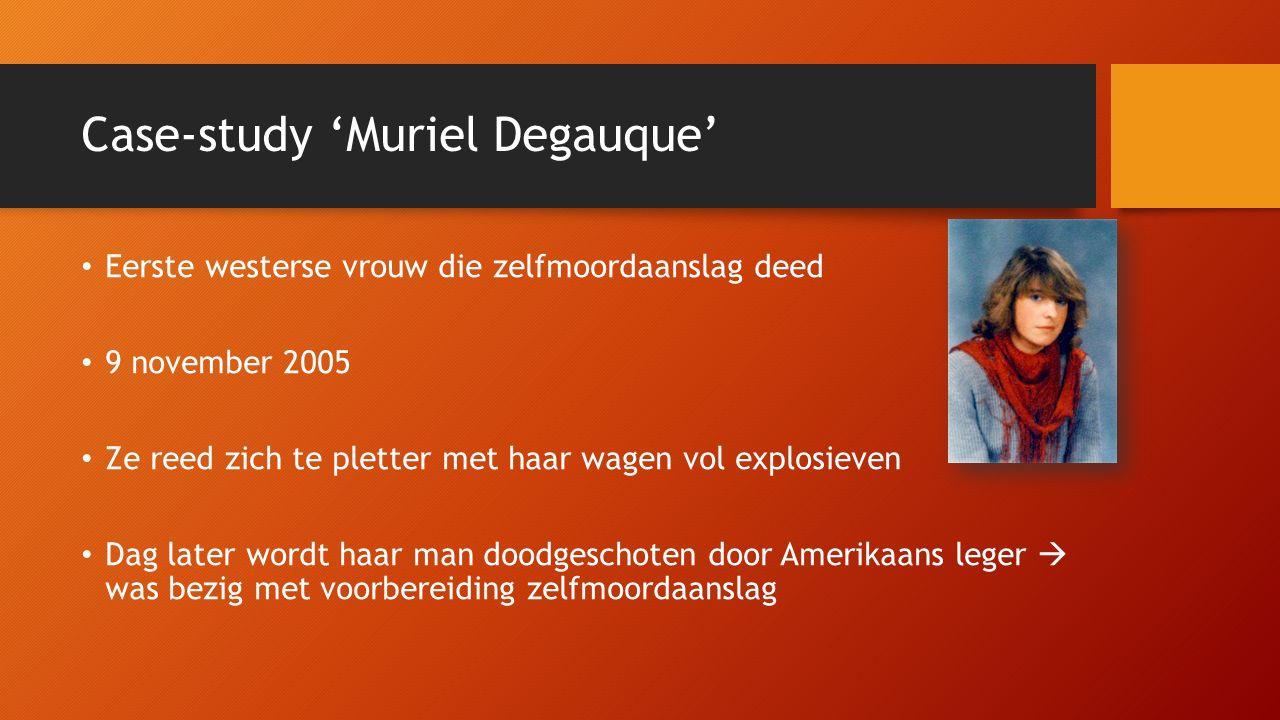 Case-study 'Muriel Degauque'