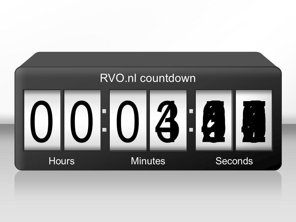 RVO.nl countdown 3. 4. 3. 1. 5. 4. 2. 7. 6. 8. 9. 1. 5. 6. 4. 3. 5. 2. 9. 4. 5.