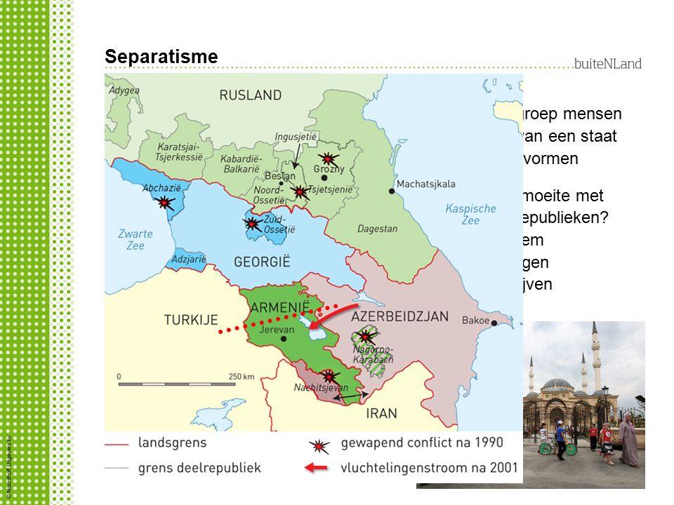 Separatisme Wat is separatisme