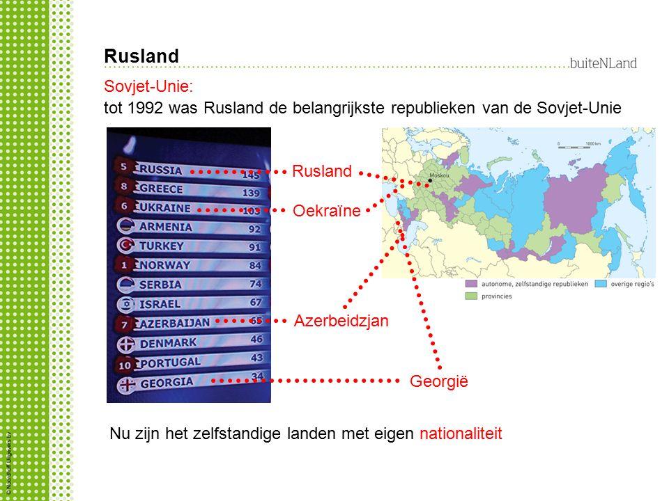 Rusland Sovjet-Unie: tot 1992 was Rusland de belangrijkste republieken van de Sovjet-Unie. Rusland.