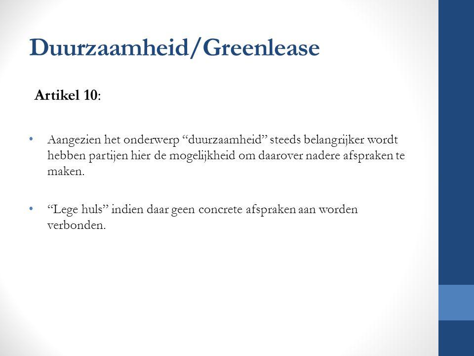 Duurzaamheid/Greenlease