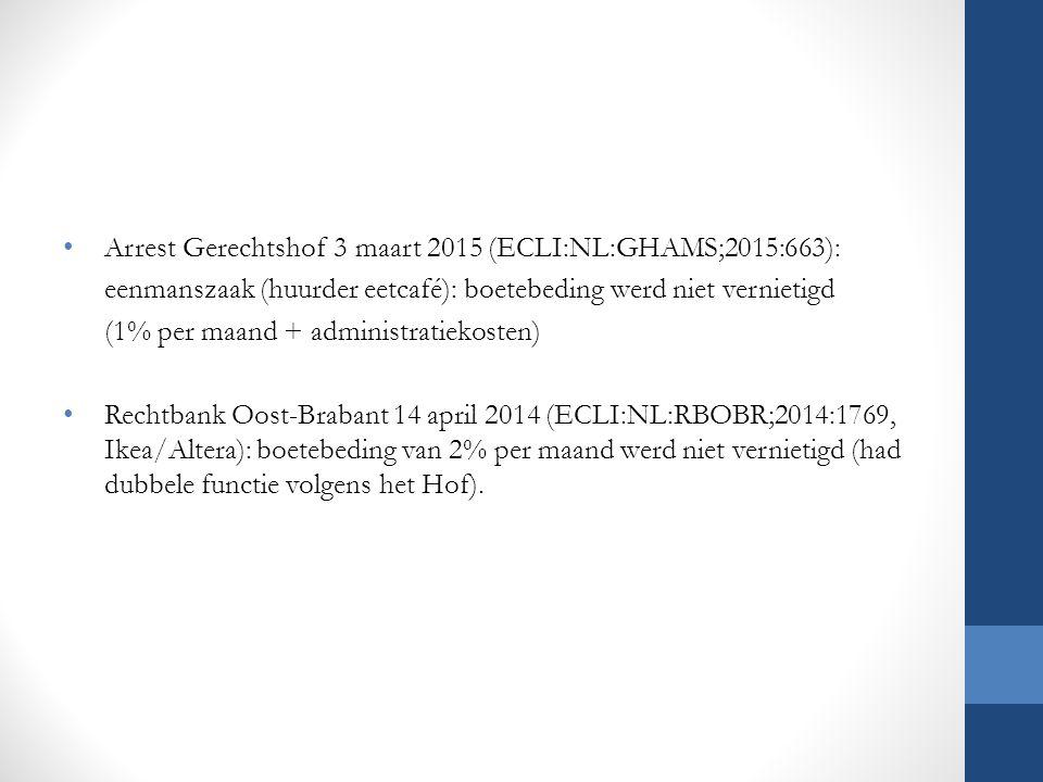 Arrest Gerechtshof 3 maart 2015 (ECLI:NL:GHAMS;2015:663):