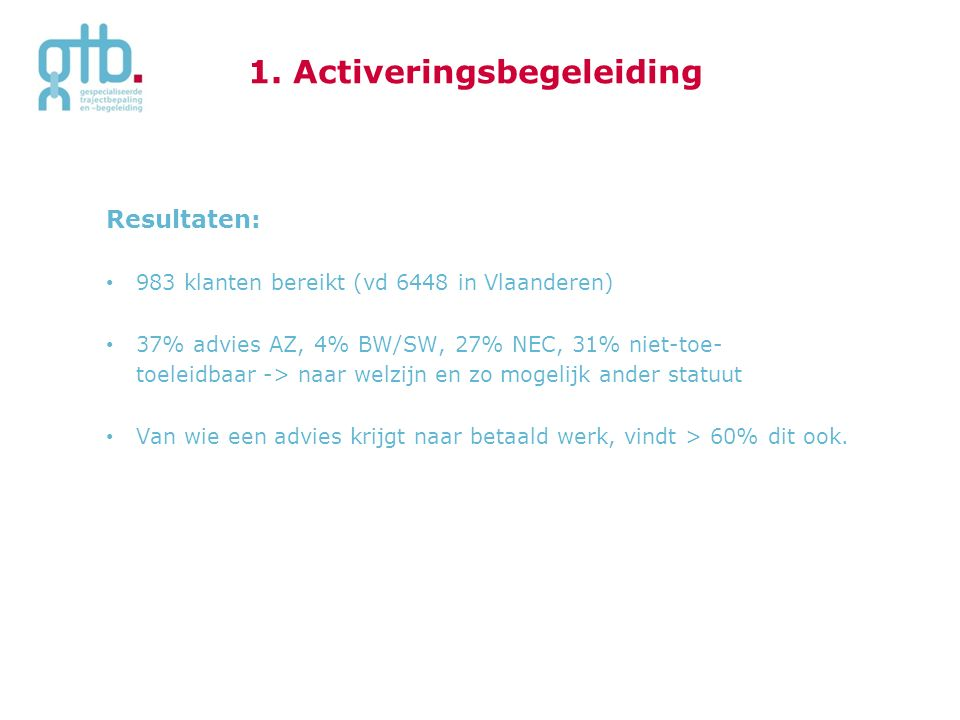 1. Activeringsbegeleiding