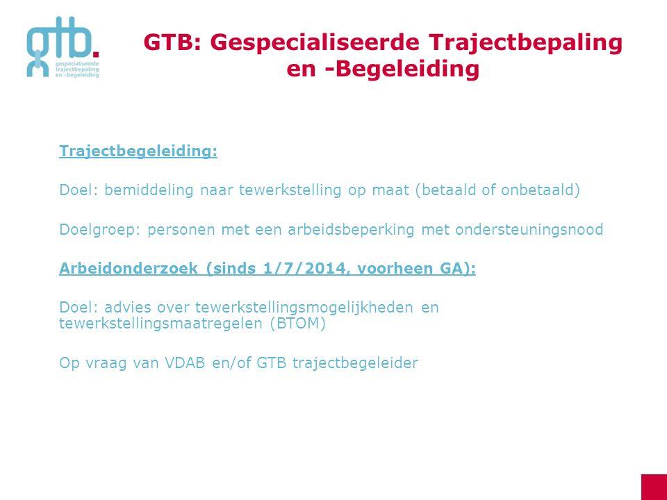 GTB: Gespecialiseerde Trajectbepaling en -Begeleiding