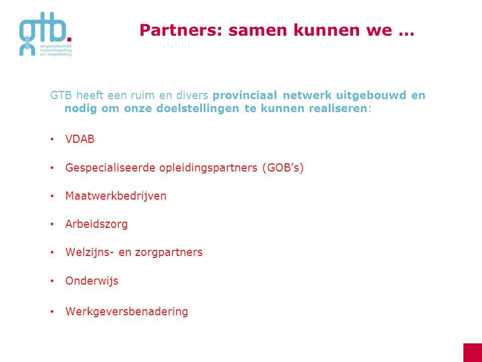 Partners: samen kunnen we …