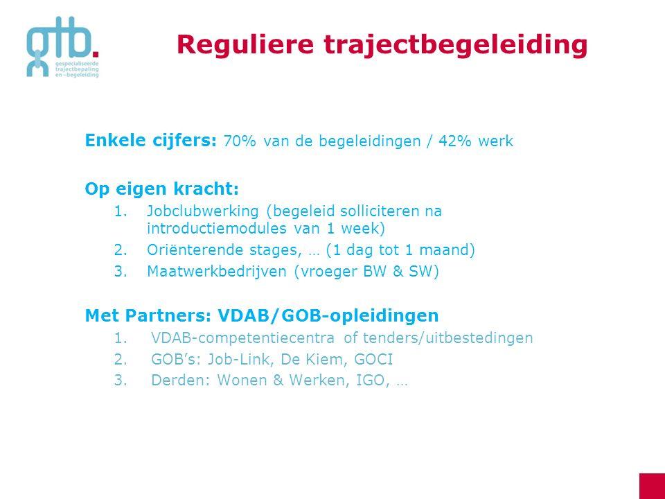 Reguliere trajectbegeleiding