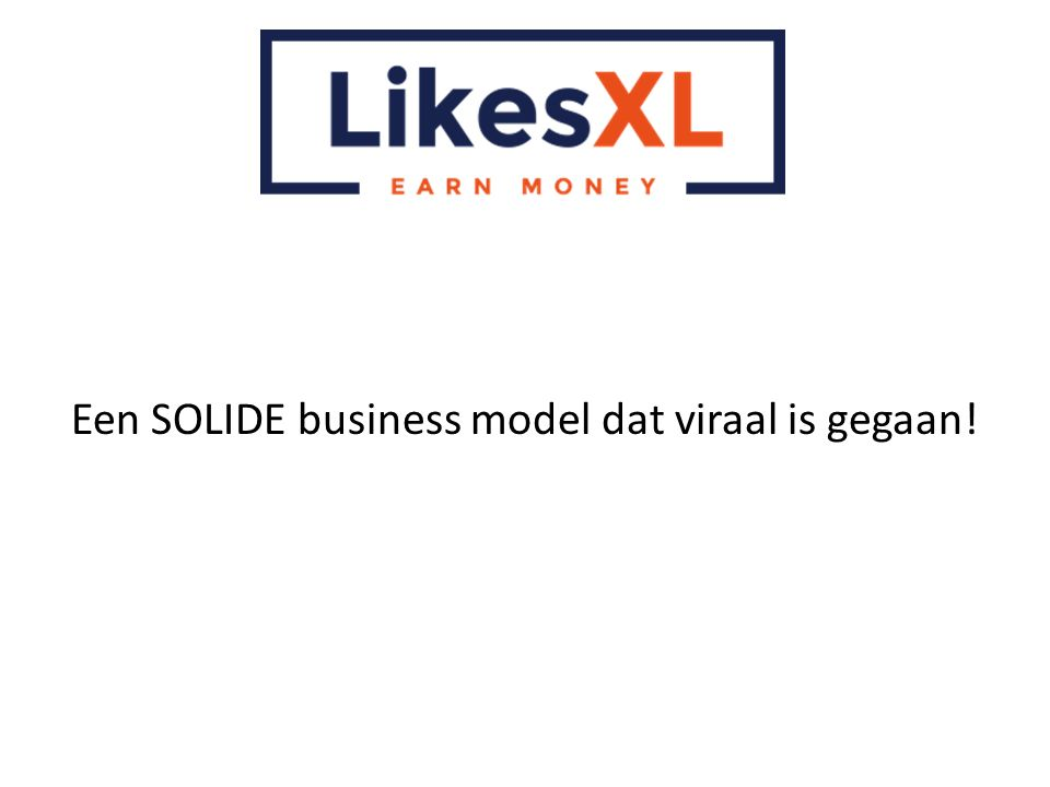 Een SOLIDE business model dat viraal is gegaan!