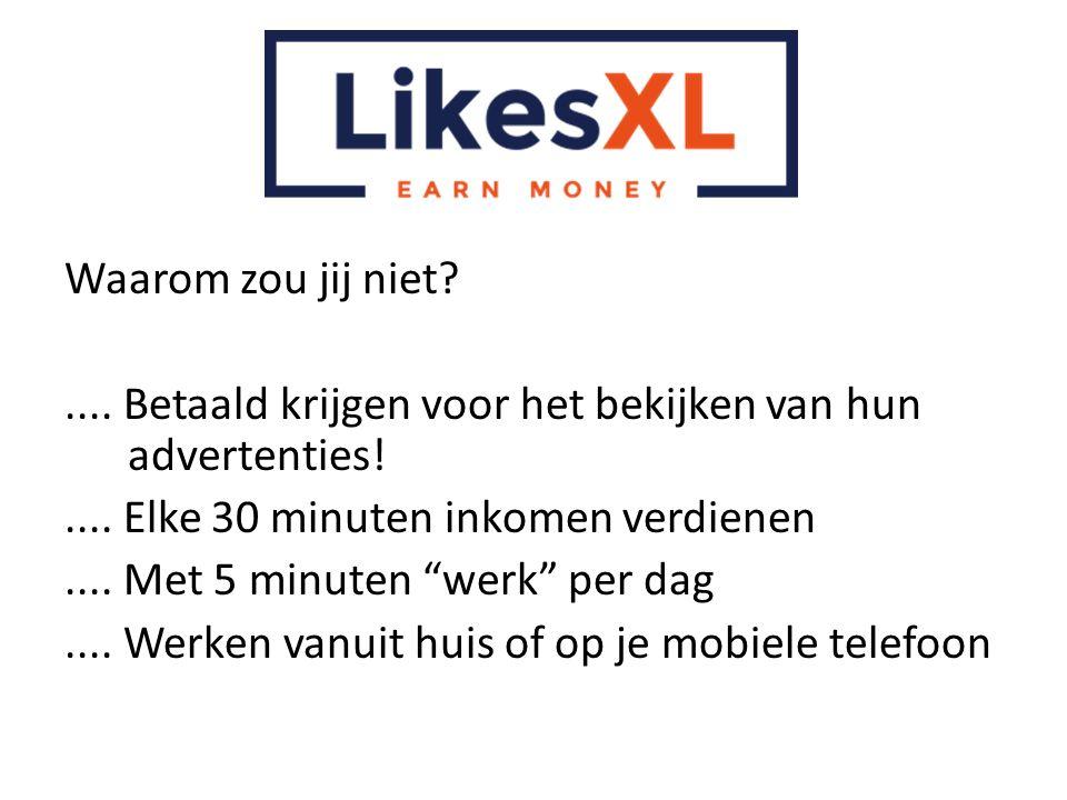 Waarom zou jij niet .... Betaald krijgen voor het bekijken van hun advertenties! .... Elke 30 minuten inkomen verdienen.