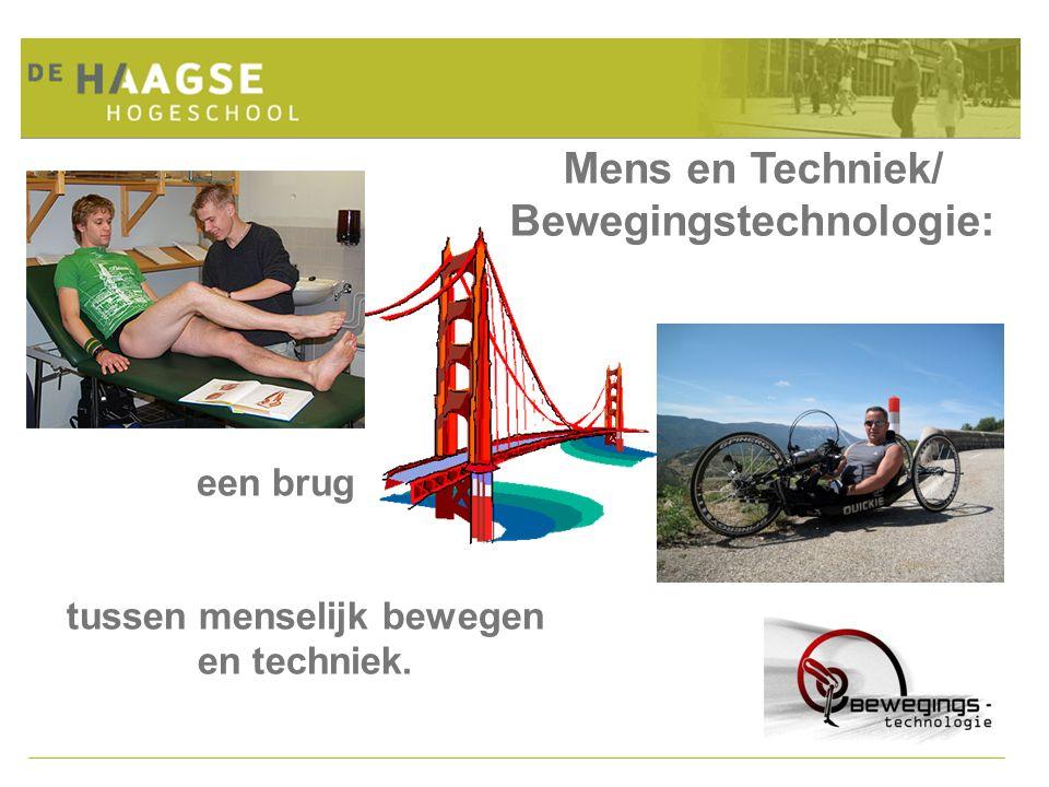 Bewegingstechnologie: tussen menselijk bewegen en techniek.