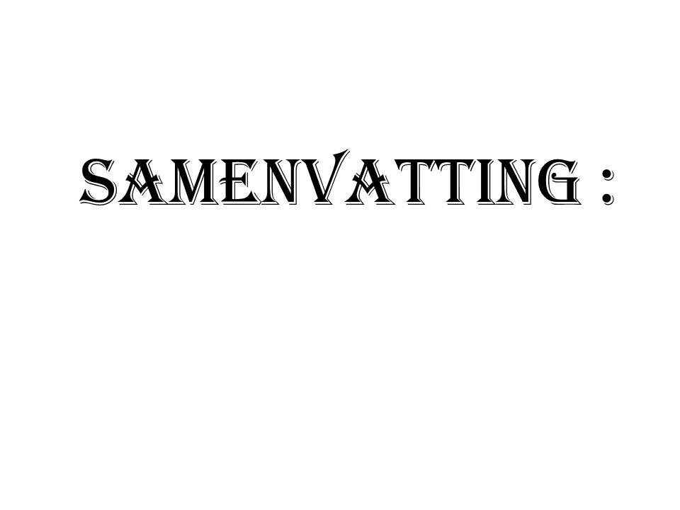 Samenvatting :