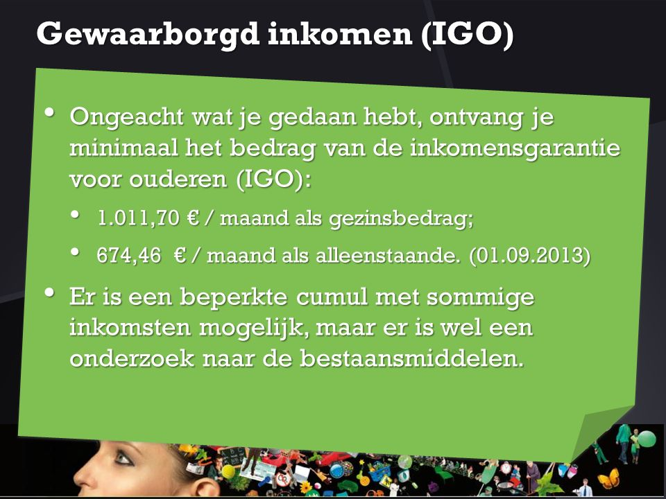 Gewaarborgd inkomen (IGO)