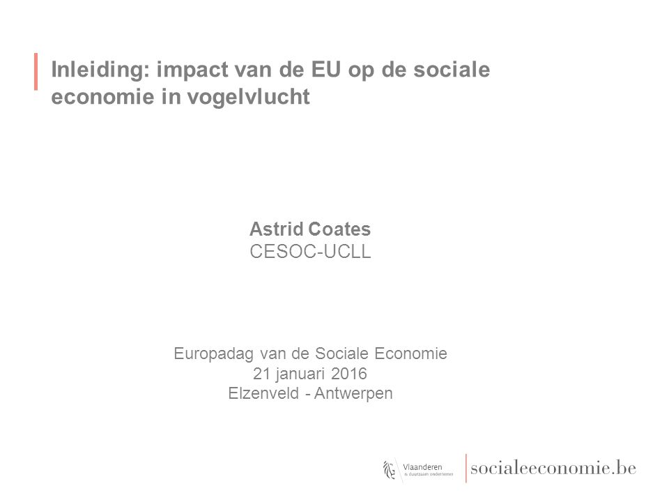 Europadag van de Sociale Economie