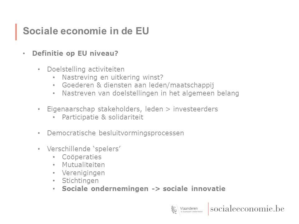 Sociale economie in de EU