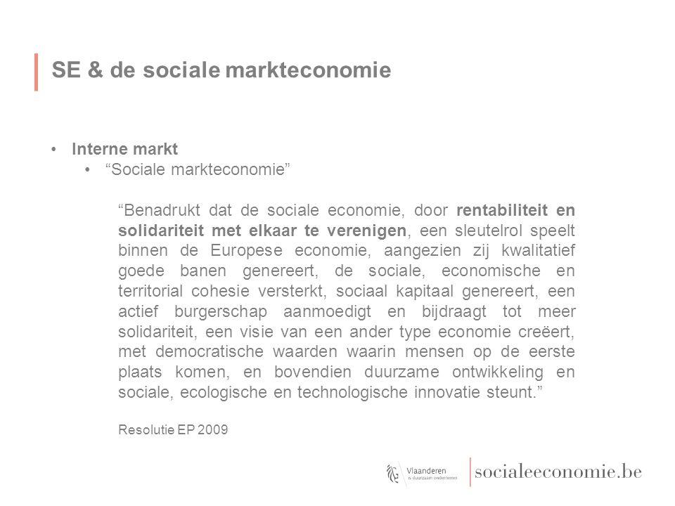 SE & de sociale markteconomie