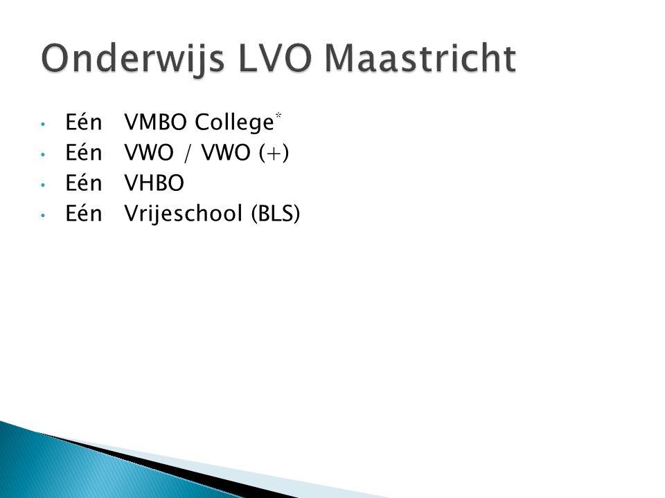 Onderwijs LVO Maastricht