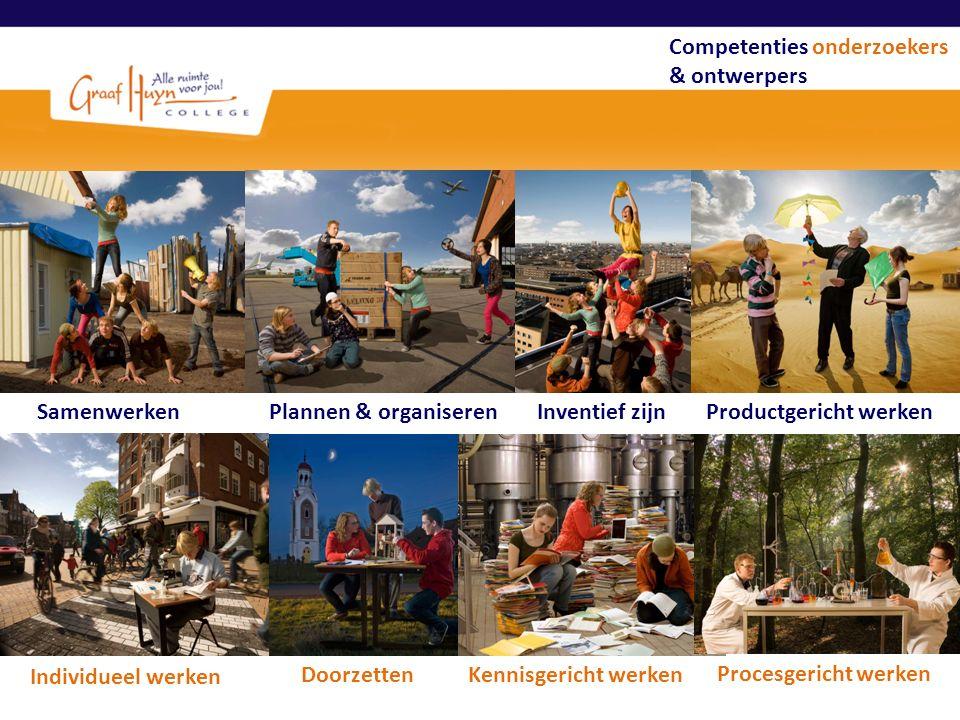 Competenties onderzoekers & ontwerpers