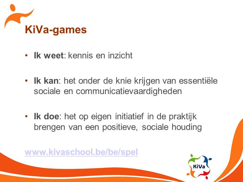 KiVa-games Ik weet: kennis en inzicht