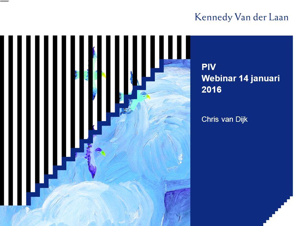 PIV Webinar 14 januari 2016 Chris van Dijk