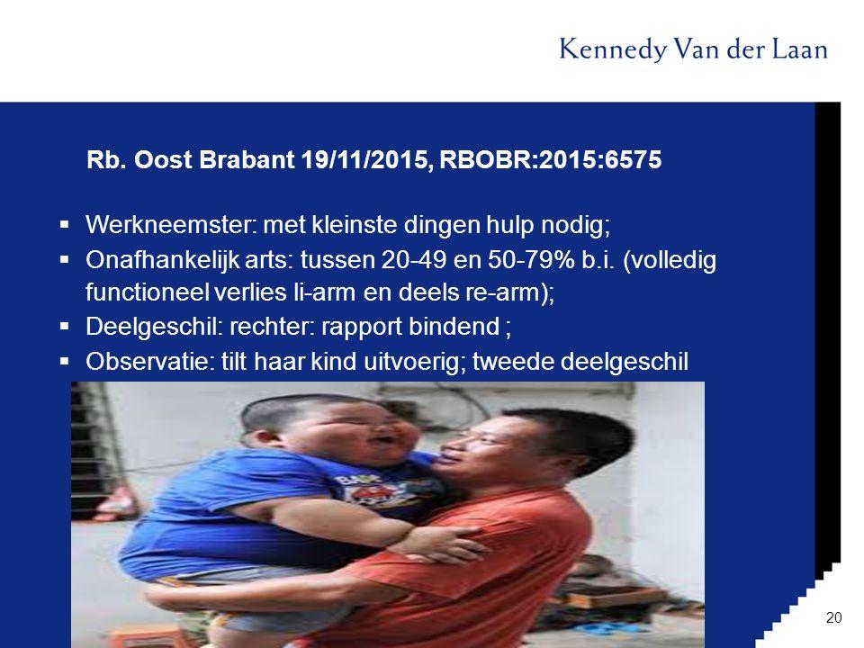 Rb. Oost Brabant 19/11/2015, RBOBR:2015:6575