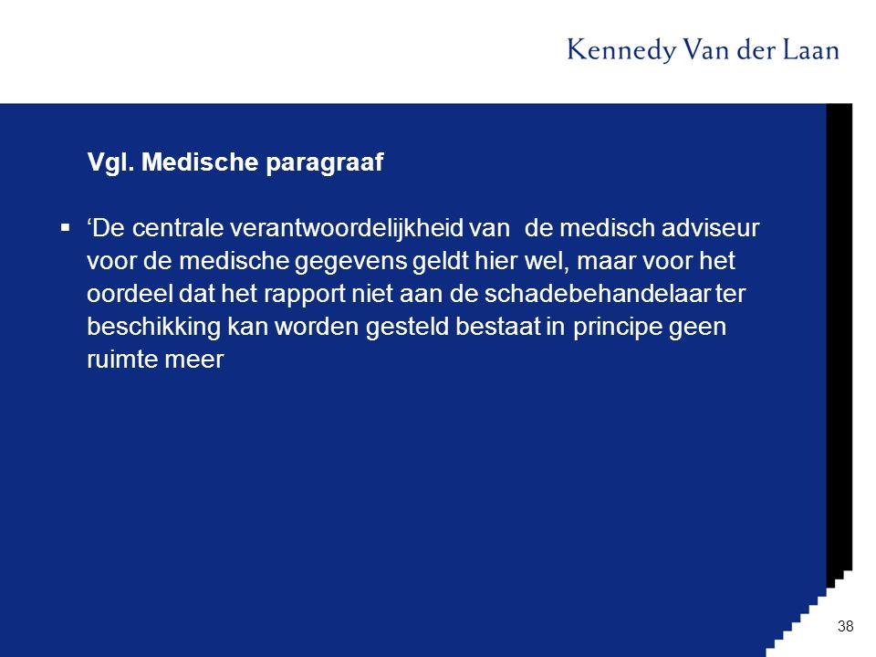 Vgl. Medische paragraaf