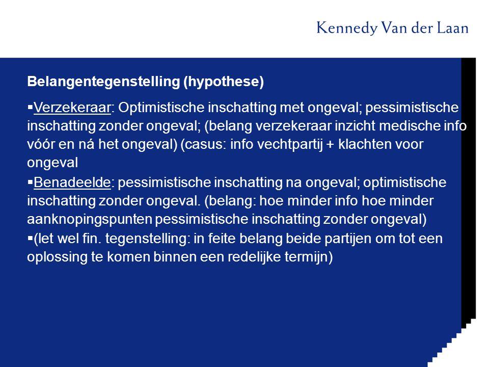 Belangentegenstelling (hypothese)