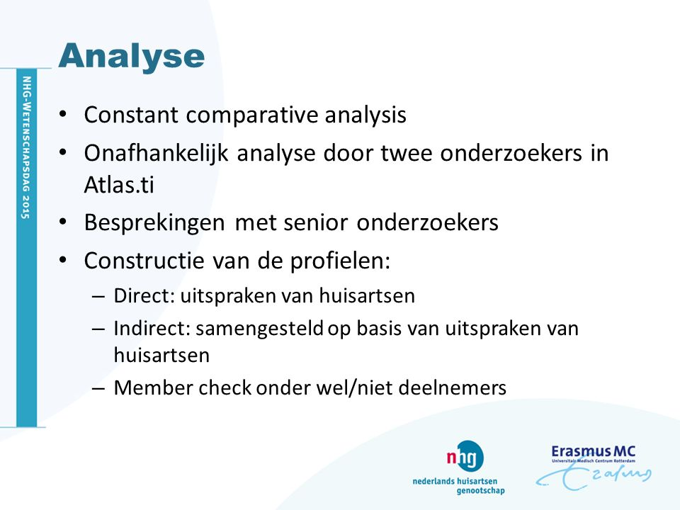 Analyse Constant comparative analysis