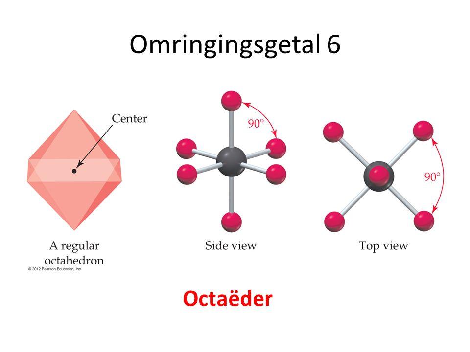 Omringingsgetal 6 Octaëder