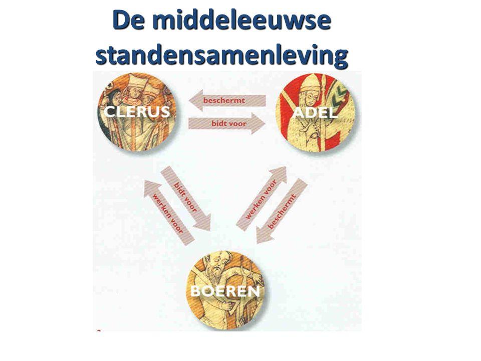 De middeleeuwse standensamenleving