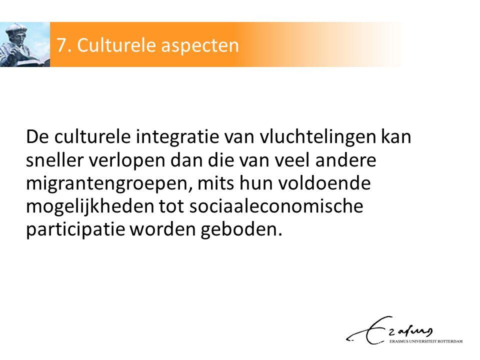 7. Culturele aspecten