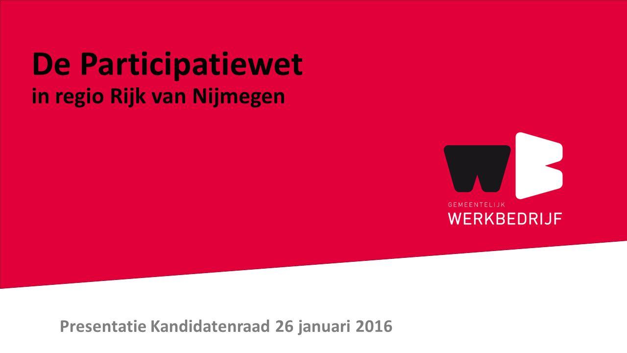 Presentatie Kandidatenraad 26 januari 2016