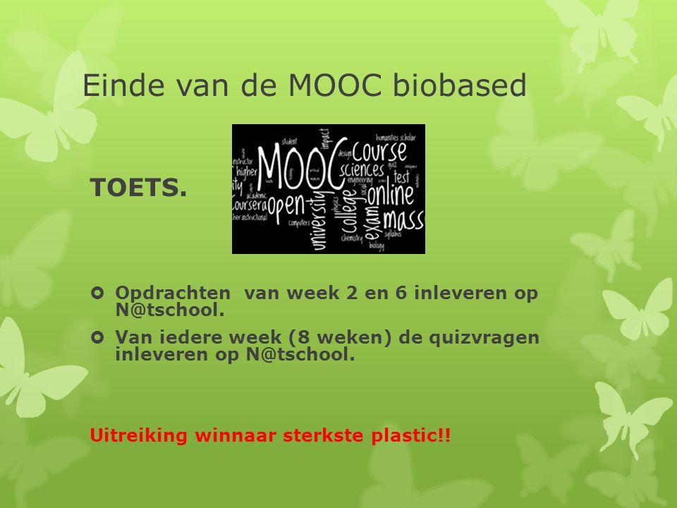 Einde van de MOOC biobased