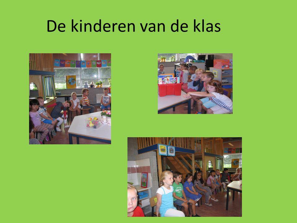 De kinderen van de klas