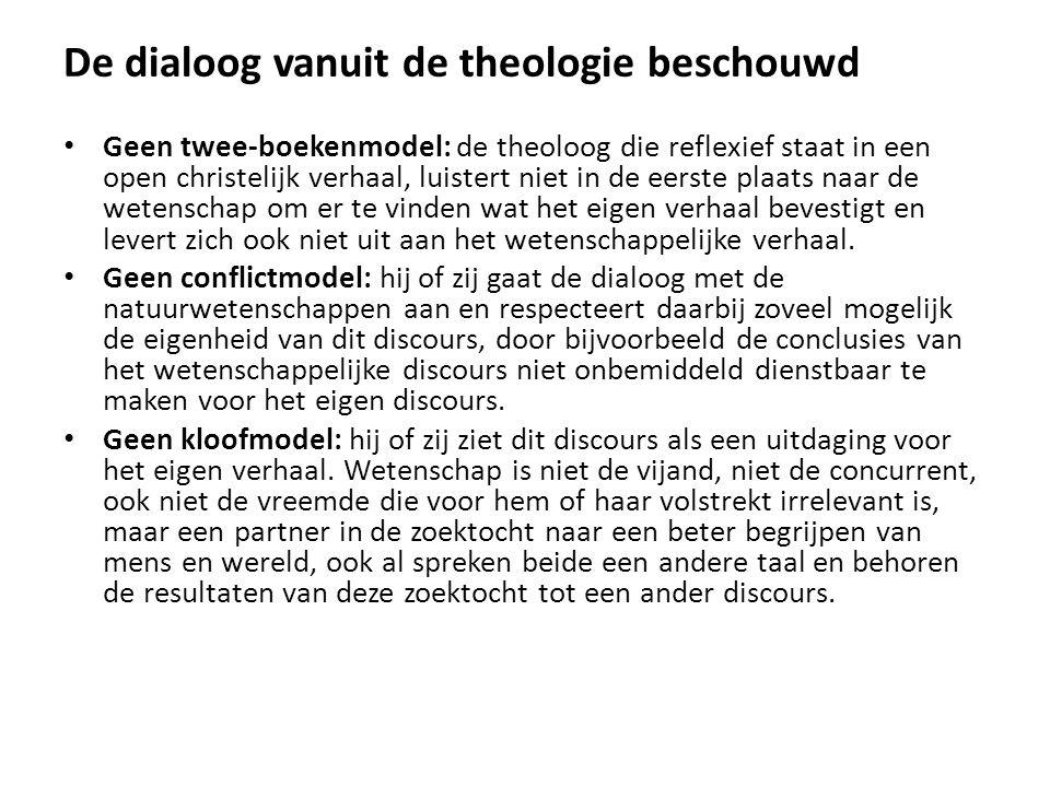De dialoog vanuit de theologie beschouwd