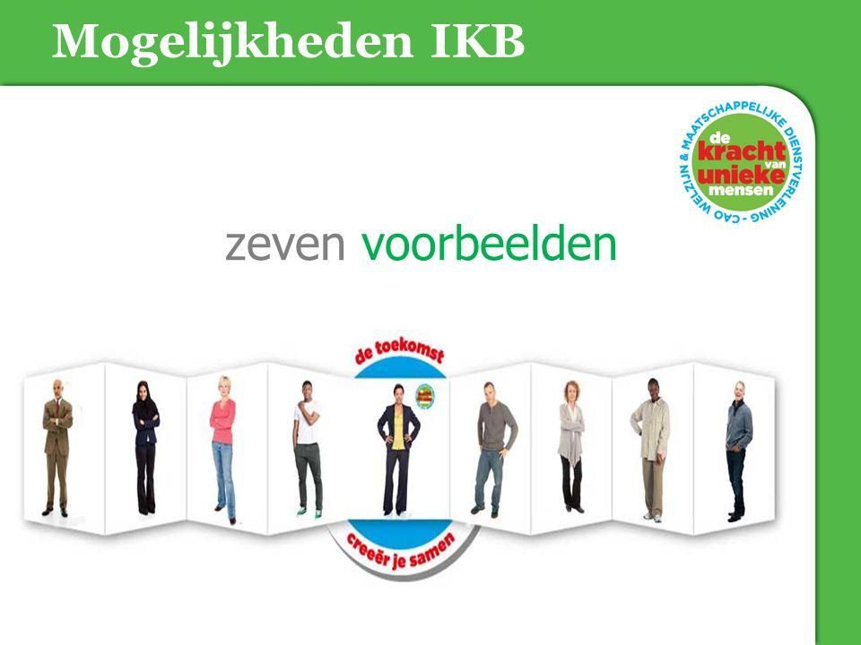 Mogelijkheden IKB zeven voorbeelden 18-06-15