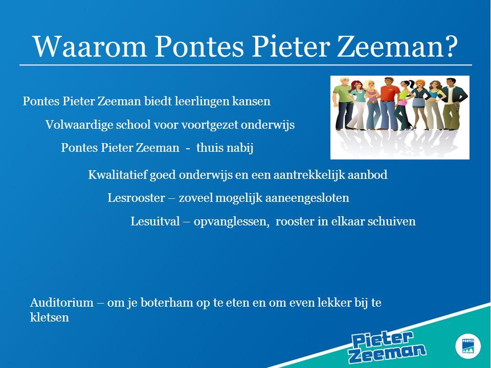 Waarom Pontes Pieter Zeeman