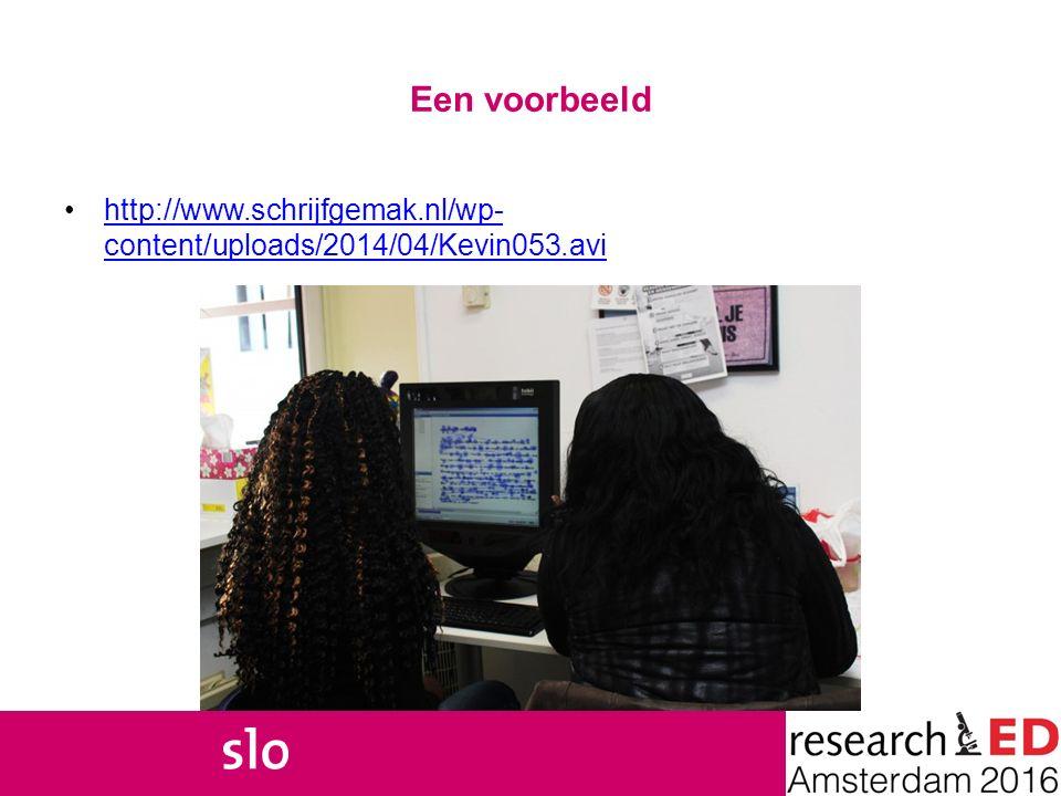 Een voorbeeld http://www.schrijfgemak.nl/wp-content/uploads/2014/04/Kevin053.avi