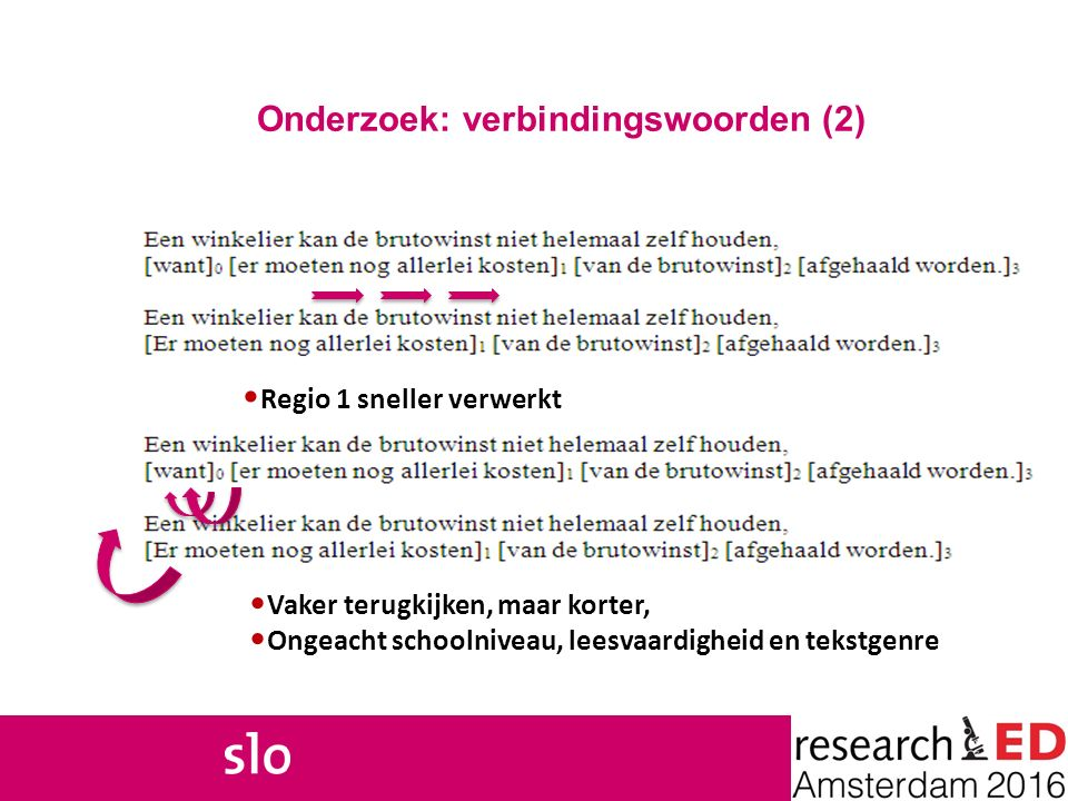 Onderzoek: verbindingswoorden (2)