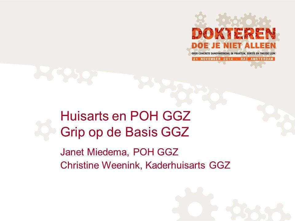 Huisarts en POH GGZ Grip op de Basis GGZ