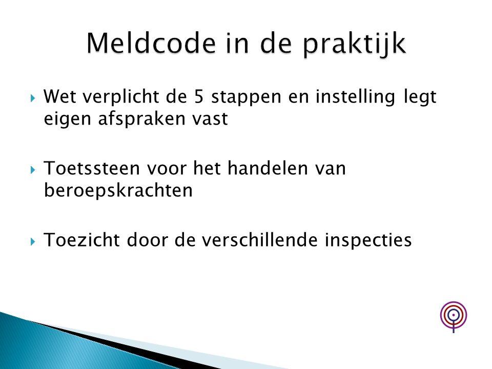 Meldcode in de praktijk