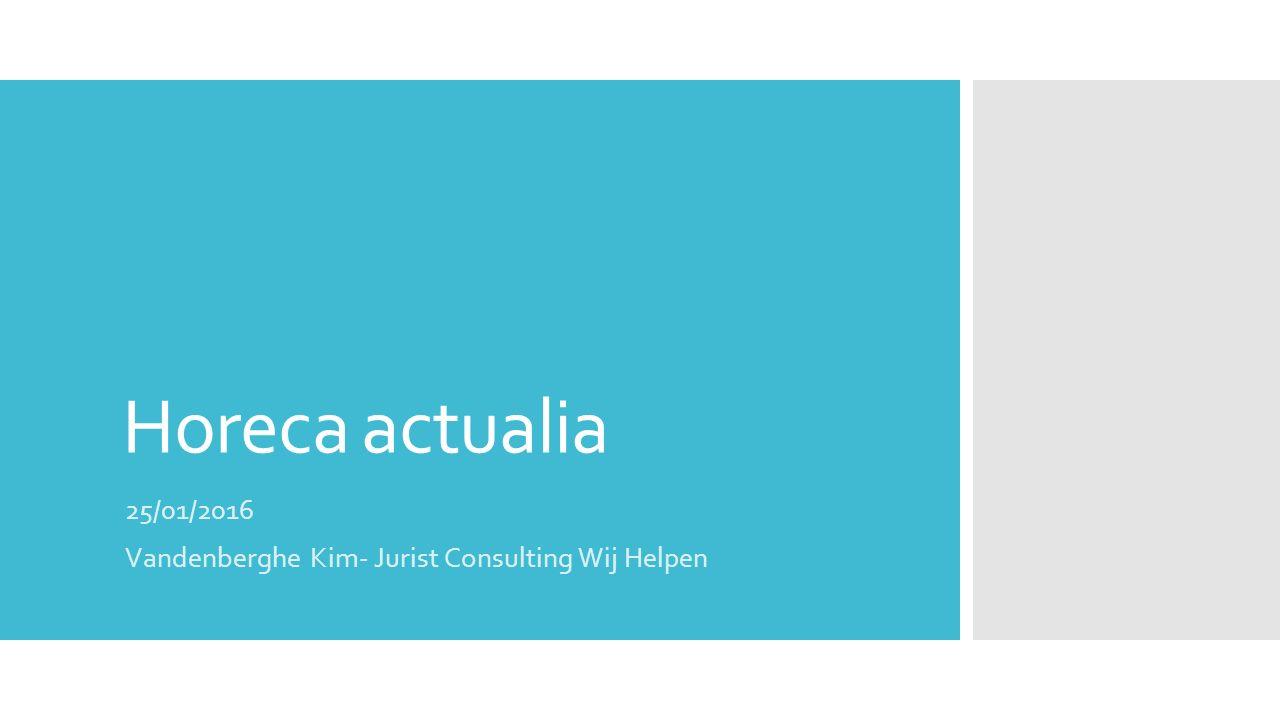 25/01/2016 Vandenberghe Kim- Jurist Consulting Wij Helpen