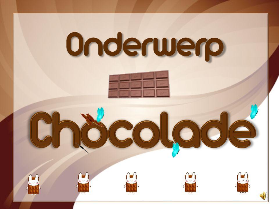 Onderwerp Chocolade