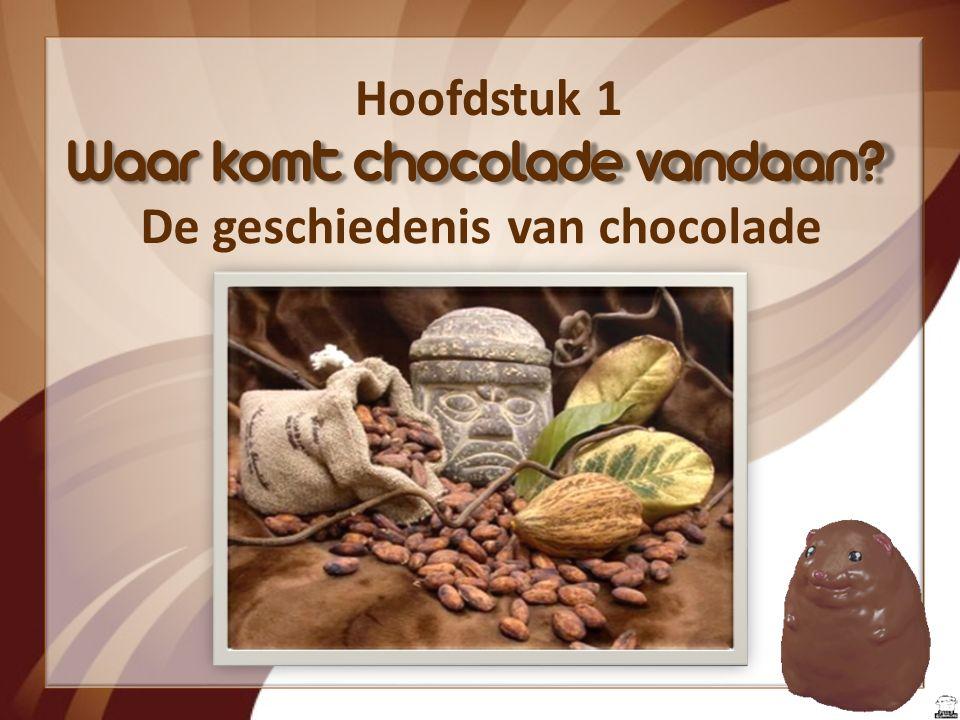 Waar komt chocolade vandaan De geschiedenis van chocolade