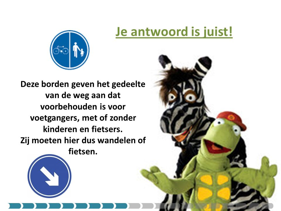 Je antwoord is juist!